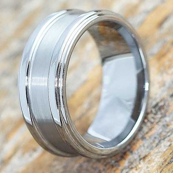 Brushed Tungsten Ring Matte Wedding Band Tungsten Ring Etsy Brushed Tungsten Ring Tungsten Ring Tungsten Wedding Bands