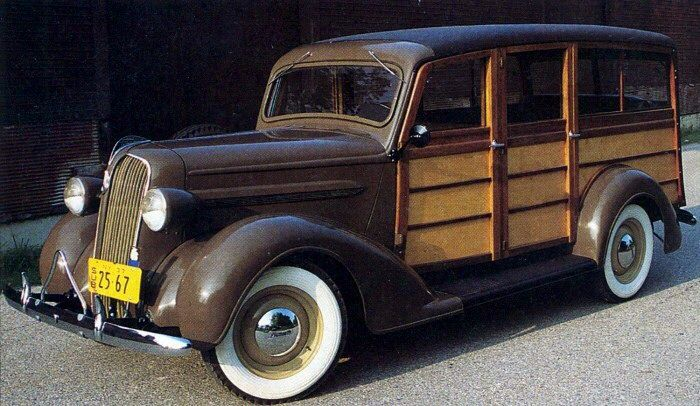 1937 Plymouth PT50 Woodie Wagon....rare.....