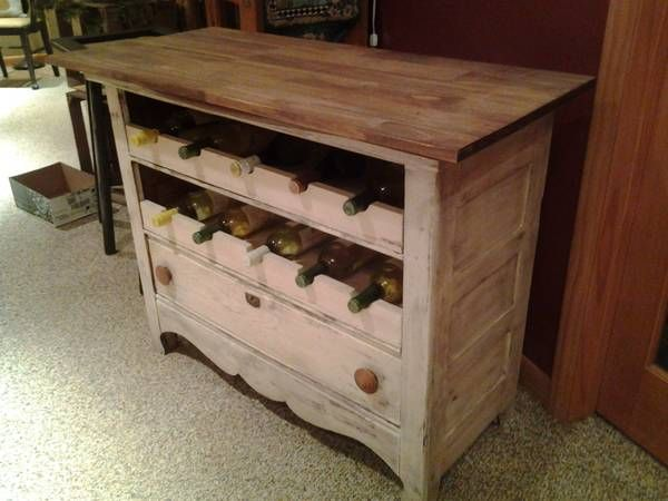 Dusty Coyote Turning A Kitchen Cart Into A Table Kitchen: Diy Buffet From Dresser