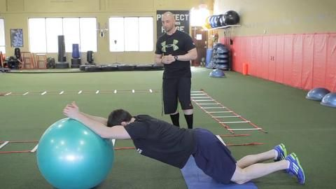 Atp Evolution Core Conditioning Circuit Ab Core Workout Circuit Ball Exercises