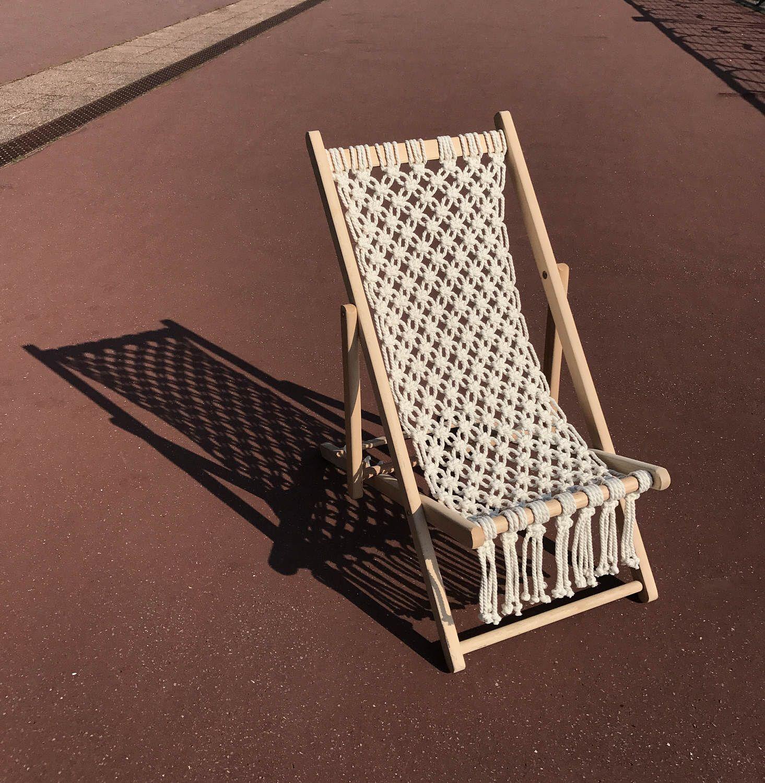 Macram chilienne enfant chaise longue enfant - Chilienne chaise longue ...