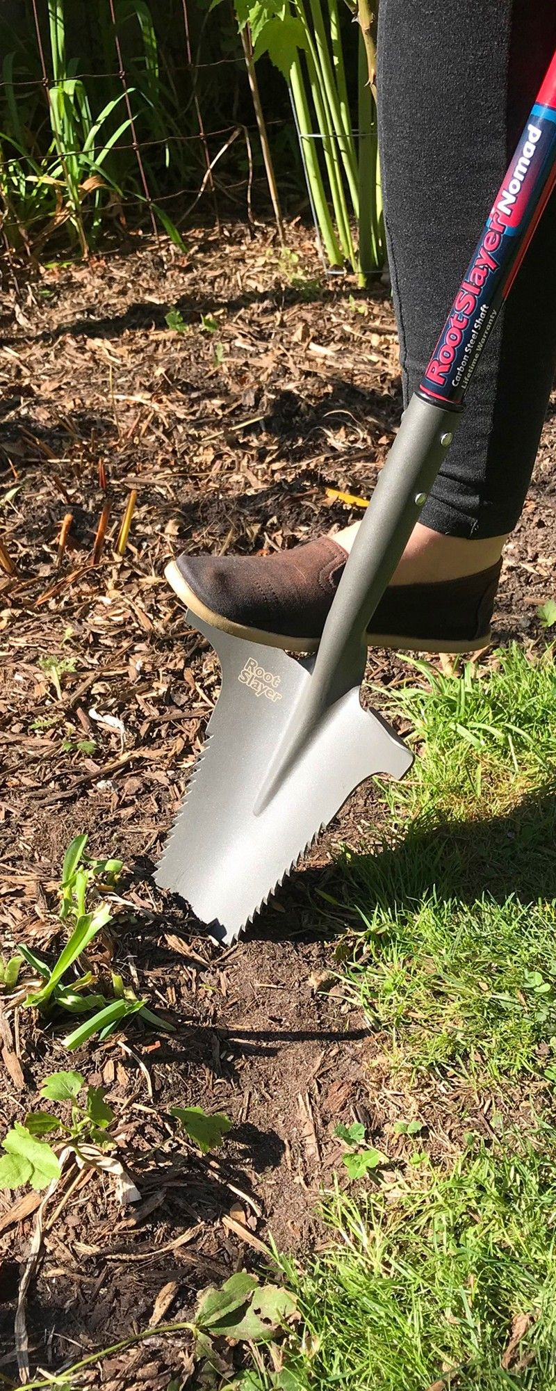 Radius Garden: Root Slayer Carbon Steel Shovel | Pinterest | Gardens ...