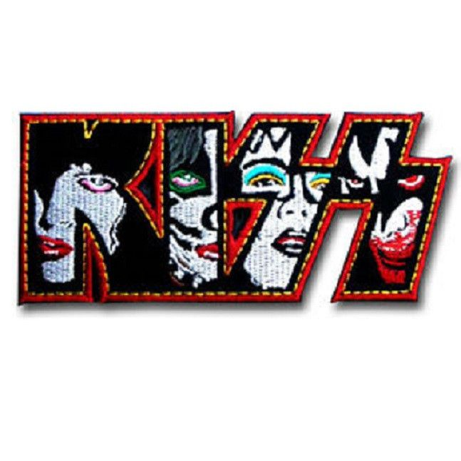 Now Available in store today KISS Faces Logo I... at a very low price here http://apatchestore.com/products/kiss-faces-logo-iron-on-embroidered-patch-4-10cm?utm_campaign=social_autopilot&utm_source=pin&utm_medium=pin @ apatchestore.com