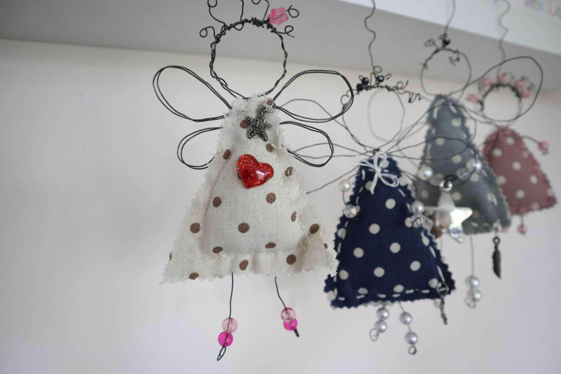Tutorial: Engel aus Draht basteln Weihnachtsengel – kreativ-leicht-gemacht