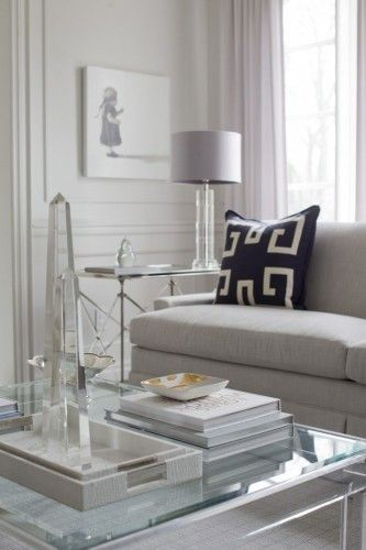 Yes but where do  find this coffee table jennifer backstein interiors chic and contemporary grey white navy living room also best rooms images in cottage diy ideas for home rh pinterest