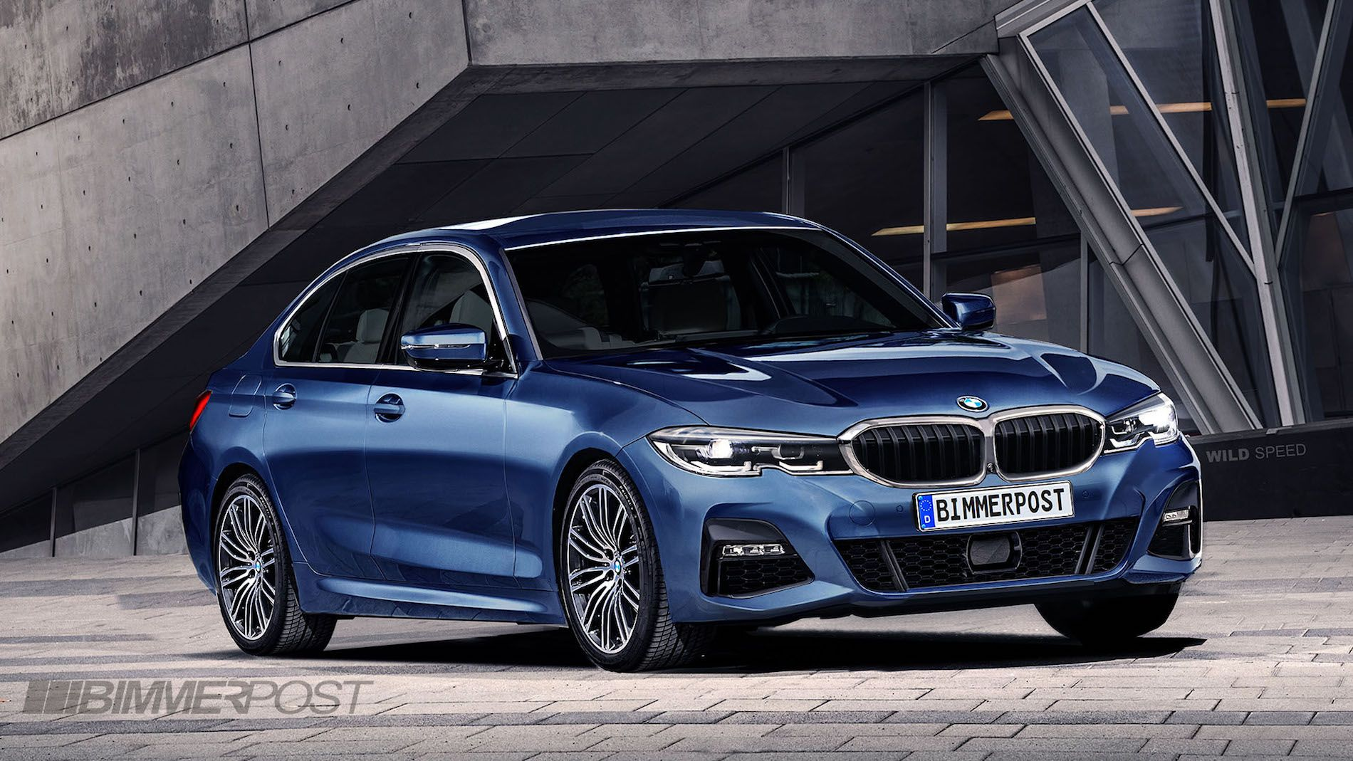 G20 Bmw 3 Series Rendered After Latest Spy Shots Bmw 3 Series Bmw Bmw 3 Series Sedan