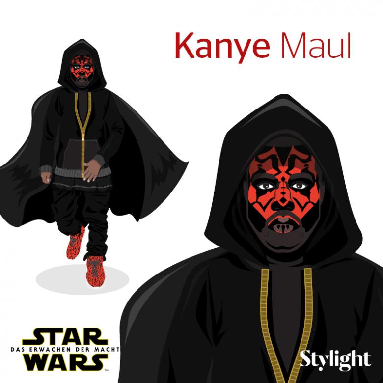 Stylewars! Die Fashion-Stars bekommen ein Star Wars Makeover