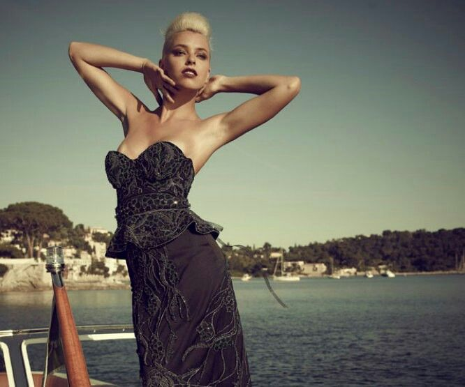This beautiful dress is worth $ 5,5 millions and it was introduced for the first time at a fashion show in Kiev. The creator of the dress was British designer Debbie Wingham, who devoted half a year of her life for making this masterpiece. The dress weighs a whopping 29 pounds and is embroidered with black and white diamonds. Gorgeous gown with smart appearance.