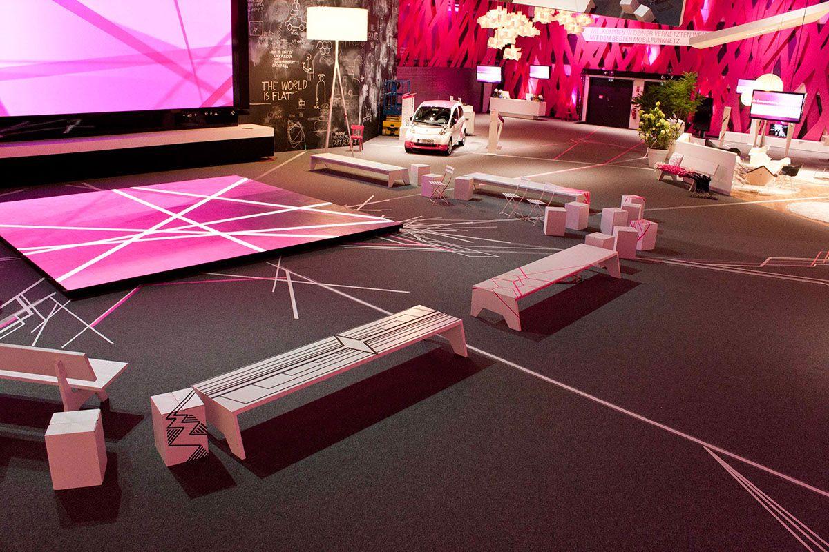 EXHIBITION DESIGN // Deutsche Telekom IFA on Behance
