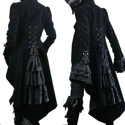 Veste gothique jas gothic victorian aristocrate jabot vest