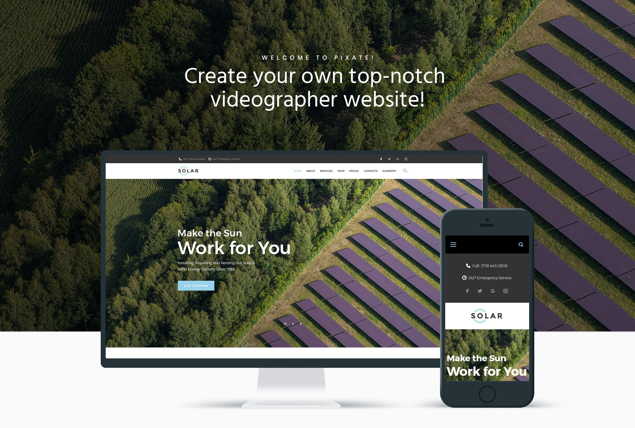 Solar - Alternative Energy Company WordPress Theme WordPress Theme #65623, #Ad #Energy #Company #Solar #Alternative #alternativeenergy
