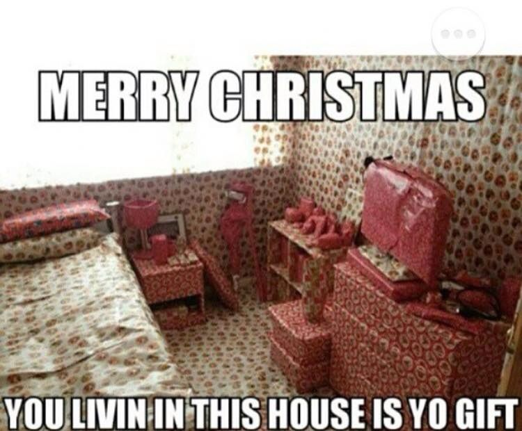 Even wrapped the carpet lol