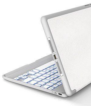 promo code edf1d 2fb52 iPad Mini 4 Keyboard Case - Two Tone Folio | ZAGG | Keyboards | iPad ...