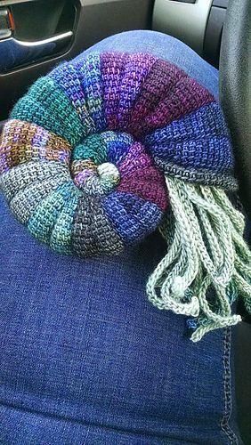 Ammonit pattern by Tanja Osswald | Pinterest | Farben, Stricken und ...
