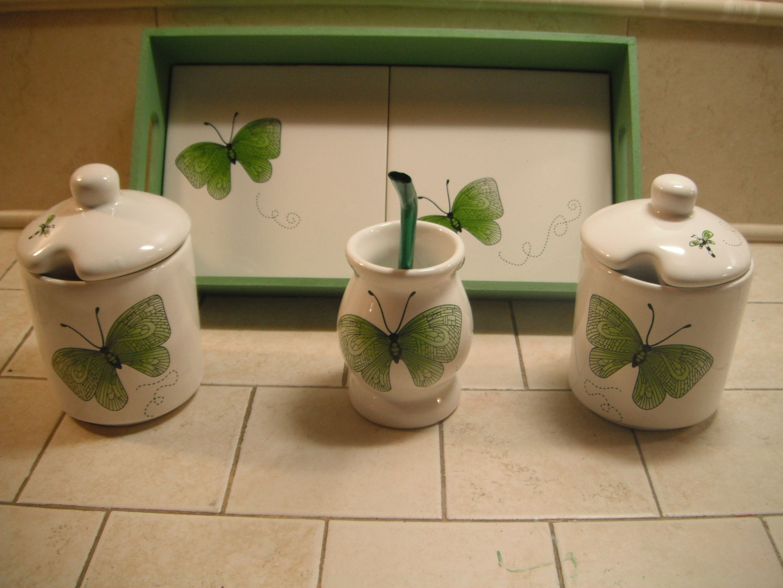 borboletas verdes