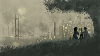 I Left My Heart In San Francisco Illustration By Pascal Campion