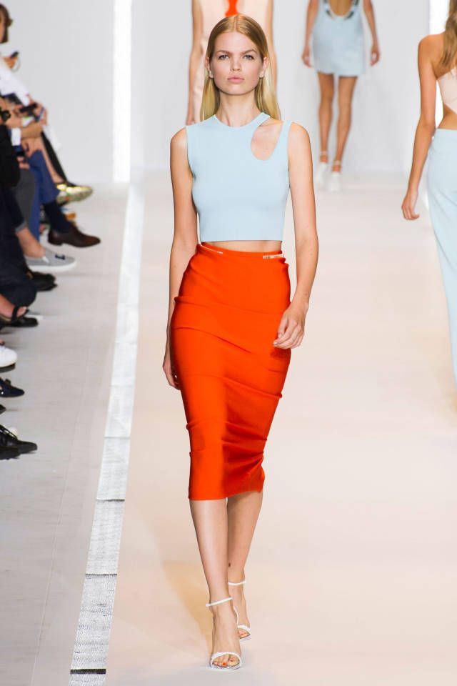 Mugler Spring 2015. See all the best #PFW runway looks here.