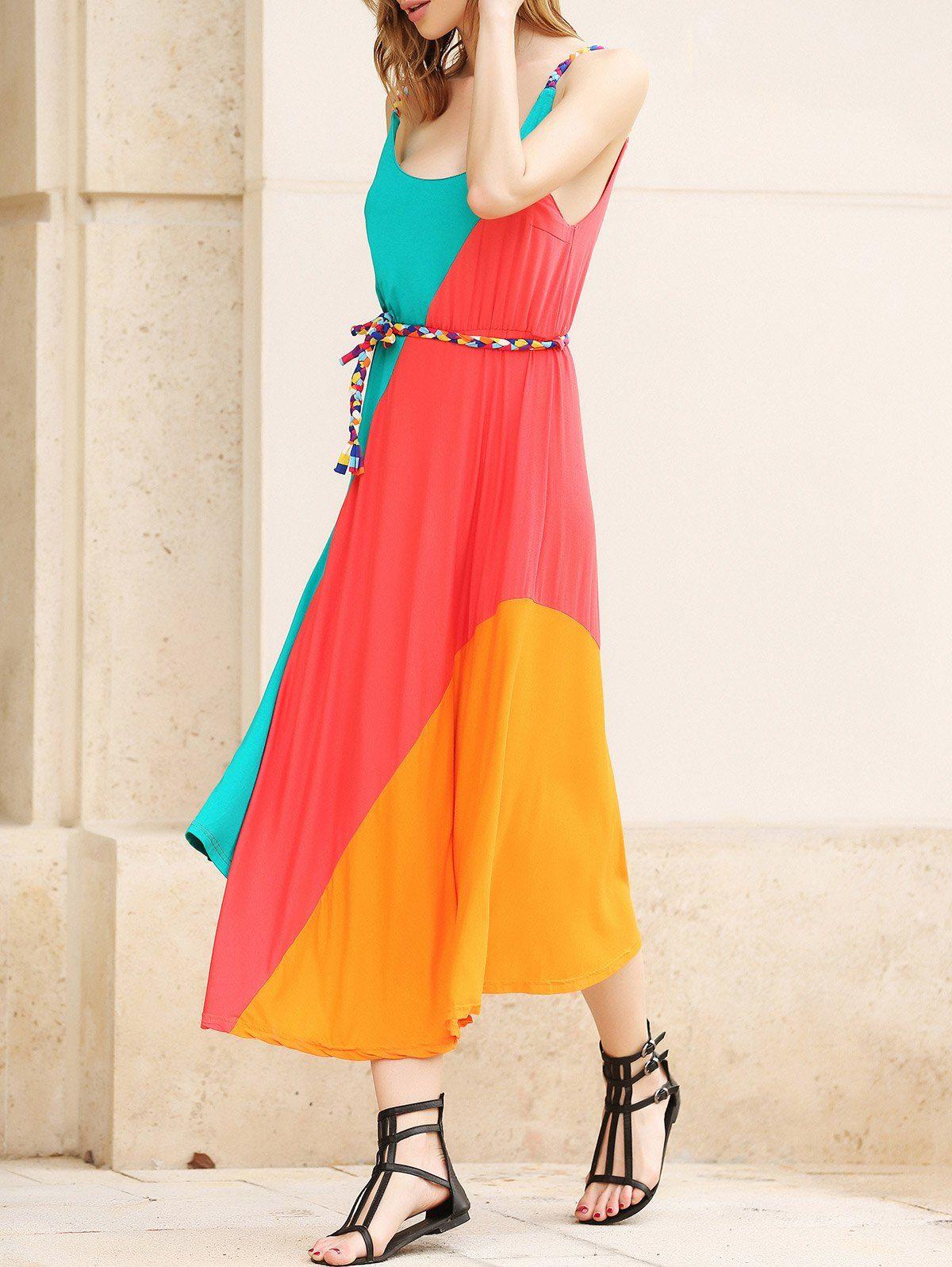 7aa209dbcb407 Gorgeous Womens Dress Summer Irregular Sleeveless Bohemian Party ...