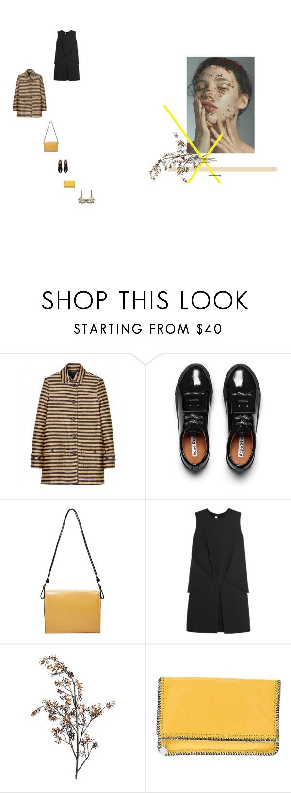 """everything is new - slow club"" by aimable ❤ liked on Polyvore featuring Burberry, Acne Studios, Marni, McQ by Alexander McQueen, Pier 1 Imports, STELLA McCARTNEY and Edge o' Beyond"