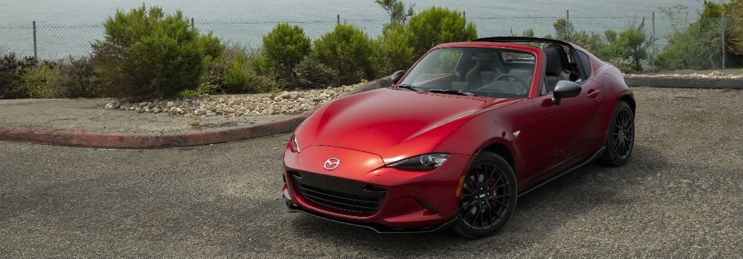 What colors can I get on the 2019 Mazda MX5 Miata