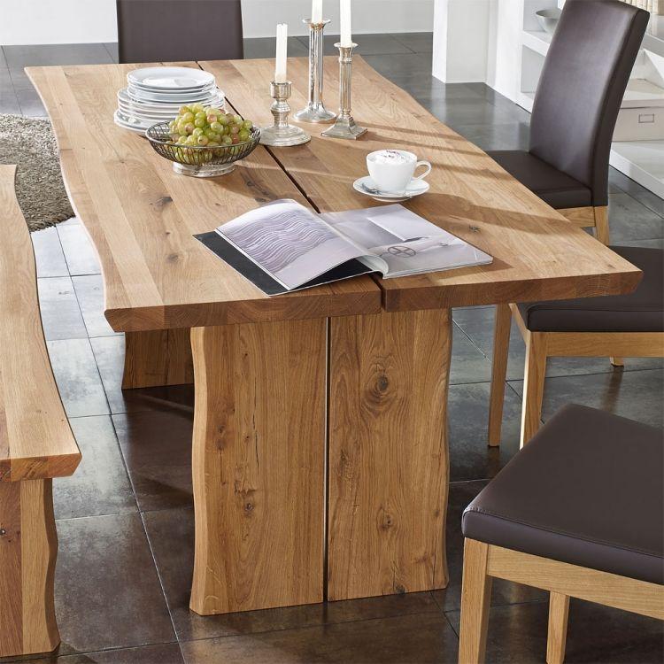 Table en bois massif haut de gamme en 27 photos ! tables