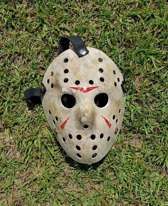 Replica Friday The 13th Remake Derek Mears Jason Voorhees Hockey Mask Cosplay