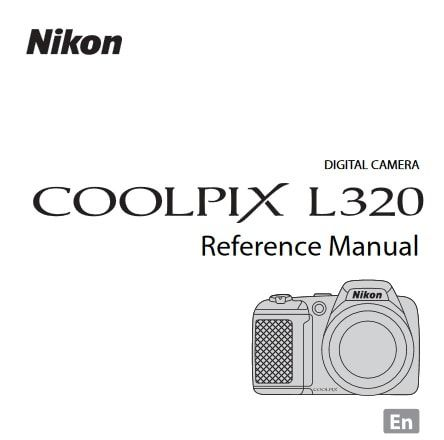 Nikon Coolpix L320 Manual, Camera Owner User Guide and