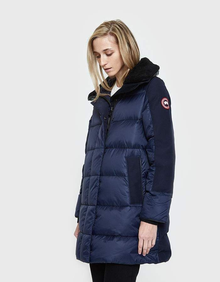 canada goose altona coat in admiral blue products canada goose rh pinterest com