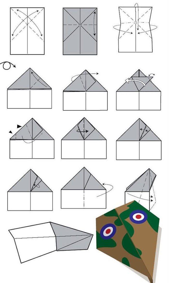 Vous avez une me de pilote vous aimez les avions en papier alors voici 15 mod les que vous - Avion en papier tatouage ...
