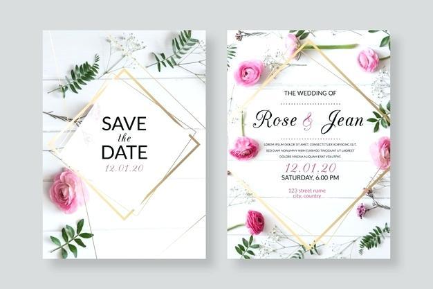 Wedding Invitations Templates Free Online Wedding Invitation Video Templates Free Onl Di 2020 Elegant Wedding Invitations Undangan Pernikahan Kartu Undangan Pernikahan