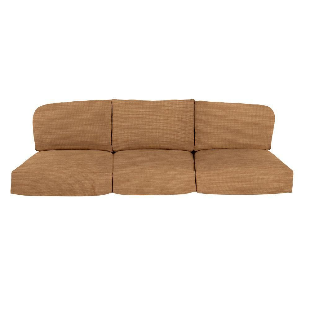Chaise Lounge Sofa Brown Jordan Northshore Replacement Outdoor Sofa Cushion in Toffee