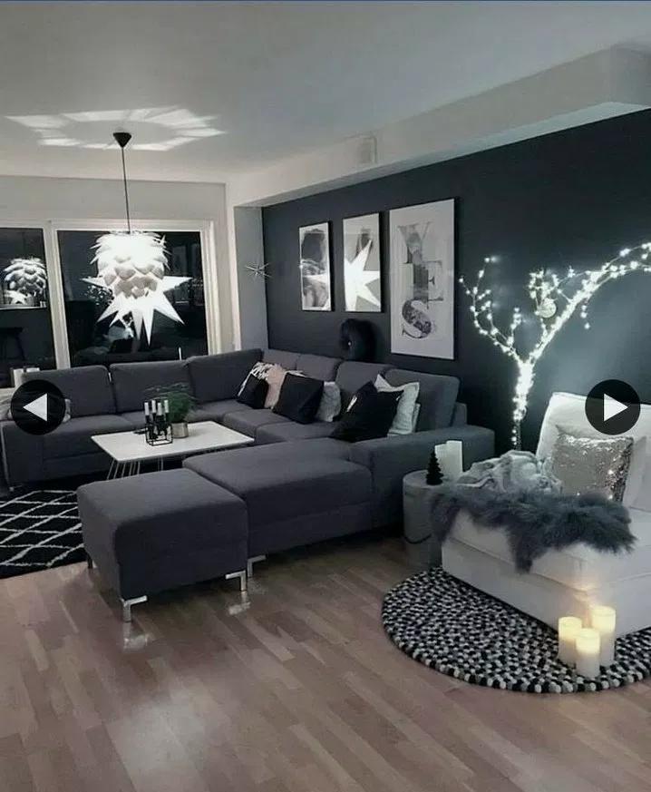 30 Modern Home Decor Ideas: 30+ Best Modern Farmhouse Living Room Curtains Decor Ideas