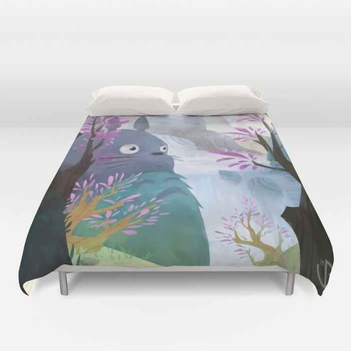 23 Ridiculously Cute Products For Anyone Who Loves Totoro Cute Duvet Covers Duvet Covers Duvet