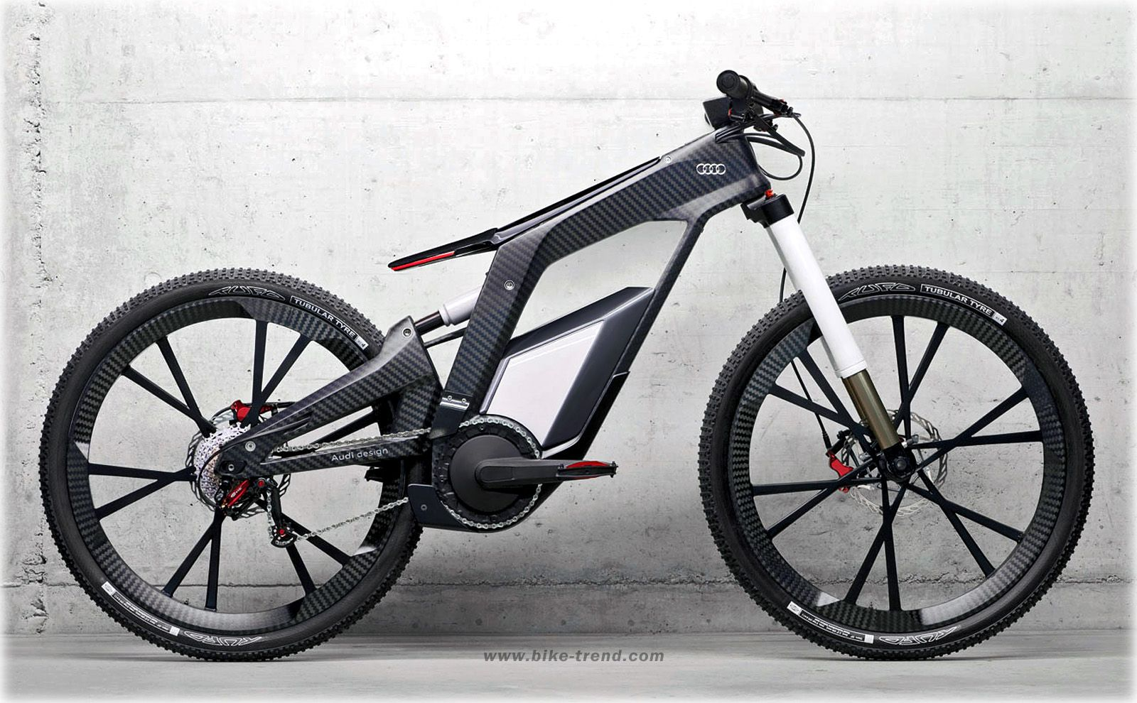 Audi E Bike Concept 2012 Electrical Bicycle By Audi Design Ebike Bike Design Best Electric Bikes