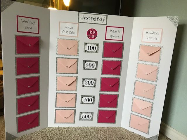Bridal Shower Jeopardy