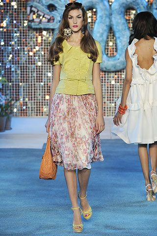 Christian Dior Resort 2009 Fashion Show - Flo Gennaro