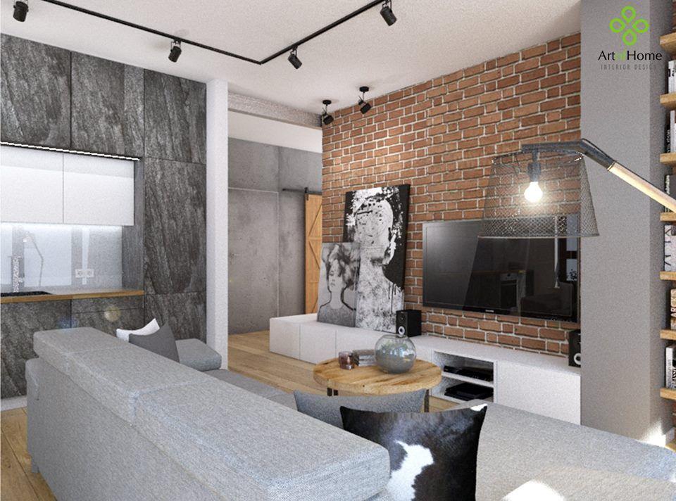 Biala cegla beton szukaj w google salon pinterest for Biala cegla w salonie