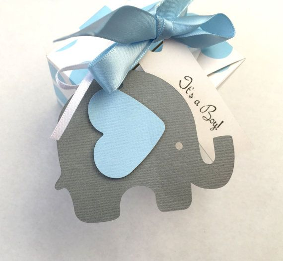 Elephant baby shower gift tags blue grey for gifts first elephant baby shower gift tags blue grey for gifts first birthday party favors treats gift bags baby boy shower gender reveal negle