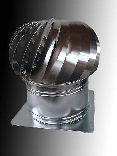 Turbine Ventilator Vv400d Without Base 15 75 Hard Aluminium Duralumin Click On The Image For Additional Details Aluminium Turbine Roof Vents