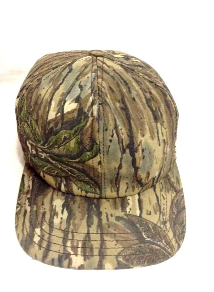 dc3090c1492 American Made Rugged  Camo Hat Vtg P Hat  Outdoors  Hunter Camouflage  Snapback Cap