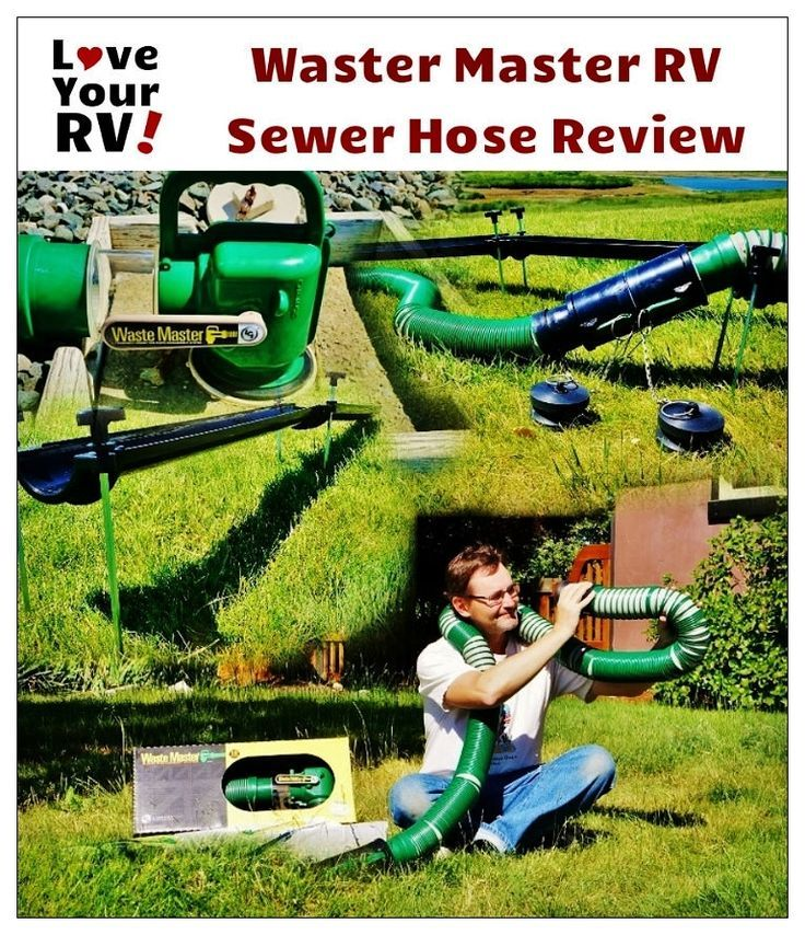 Reviewing The Waste Master Rv Sewer Management System Sewer Rv Life Rv Maintenance