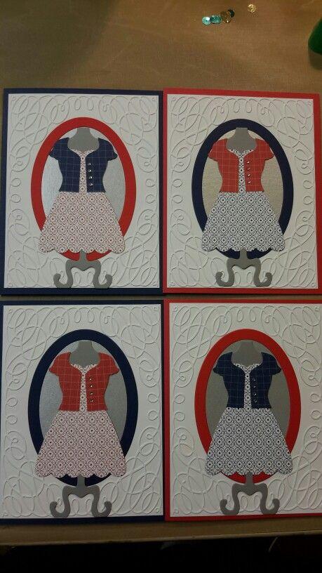 SU dress form - die/framelits