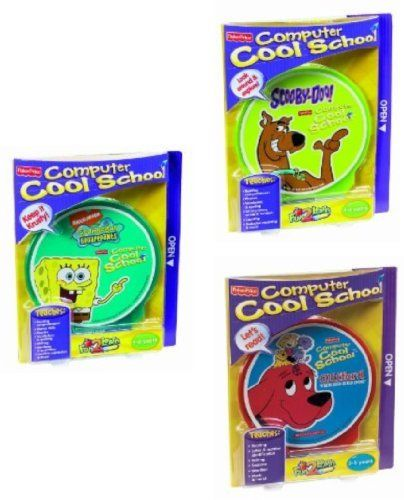 Fisher-Price Fun-2-Learn Computer Cool School 3-Disc Software - computer software skills