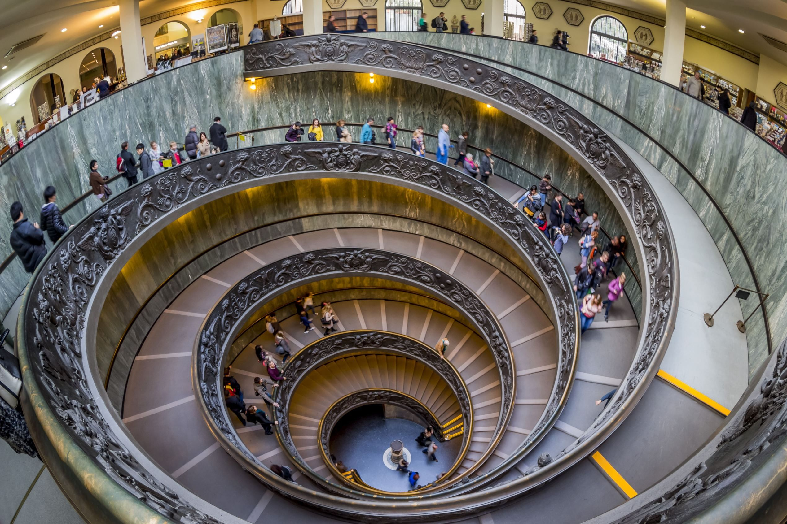 Best Spiral Staircase In Vatican Museum This Exquisite Double 640 x 480