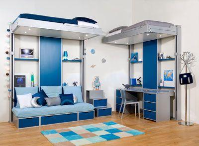 Chambre Pour 2 Enfants Lit Escamotable Espace Logia Com
