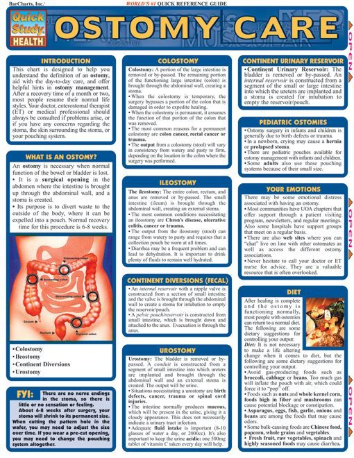 Ostomy Care MED-SURG Pinterest Helpful hints, Definitions and - resume for nursing school