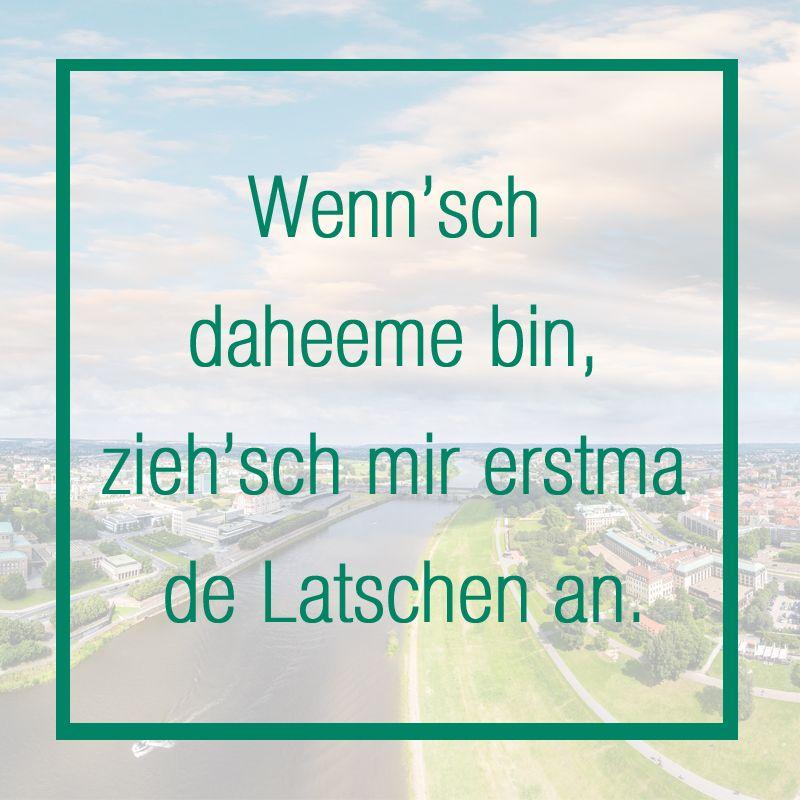 Sätze Auf Sächsisch