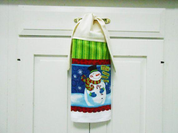 Kitchen Hand Towel Hanging Towel Tie On Towel Towel By AkornShop, $5.95
