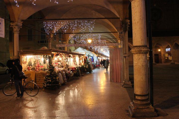 Bologna. I mercatini di Natale 2015 Santa lucia