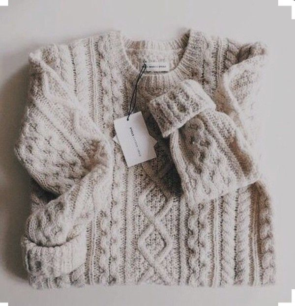 9629003178 cable knit sweater. … My kind of perfect sweater weather